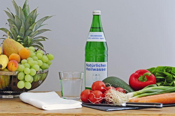 Heilwasser und gesunde Ernährung
