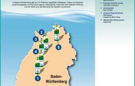 Grafik Heilwassermarken in Baden-Württemberg