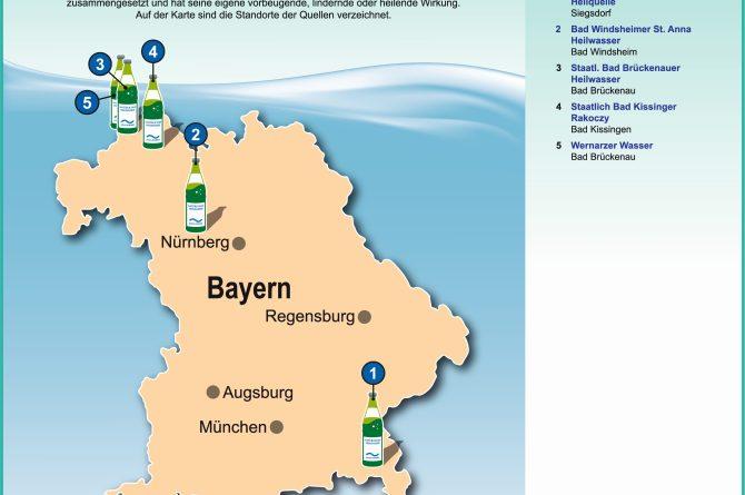 Heilwassermarken in Bayern