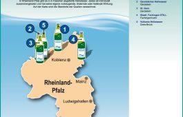 Landkarte: Heilwasser in Rheinland-Pfalz