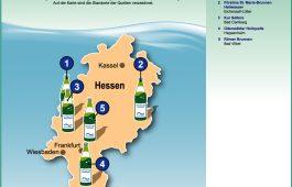 Grafik Heilwassermarken in Hessen