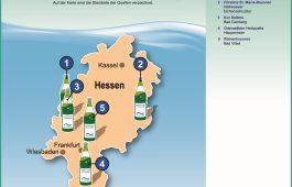 Landkarte: Heilwasser in Hessen