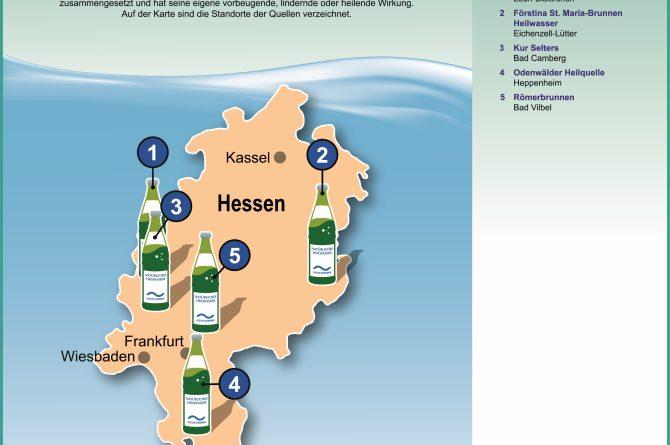 Heilwassermarken in Hessen