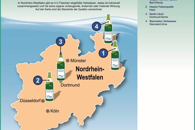 Heilwassermarken in Nordrhein-Westfalen