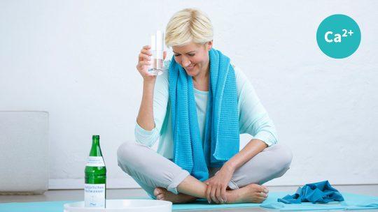 Calcium: Inhaltsstoff Heilwasser
