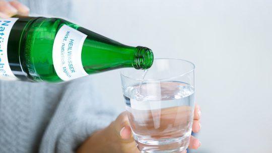 Heilwasser Qualität Kontrollen