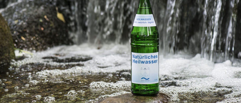 Regionales Heilwasser