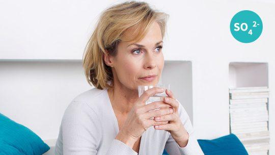 Sulfat: Inhaltsstoff Heilwasser